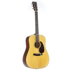 Guitare électro acoustique - Martin-Guitars-D-18E-LRB